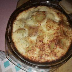 krumpli, parmezán, póréhagyma, sajt, sonka, sütés, tarja