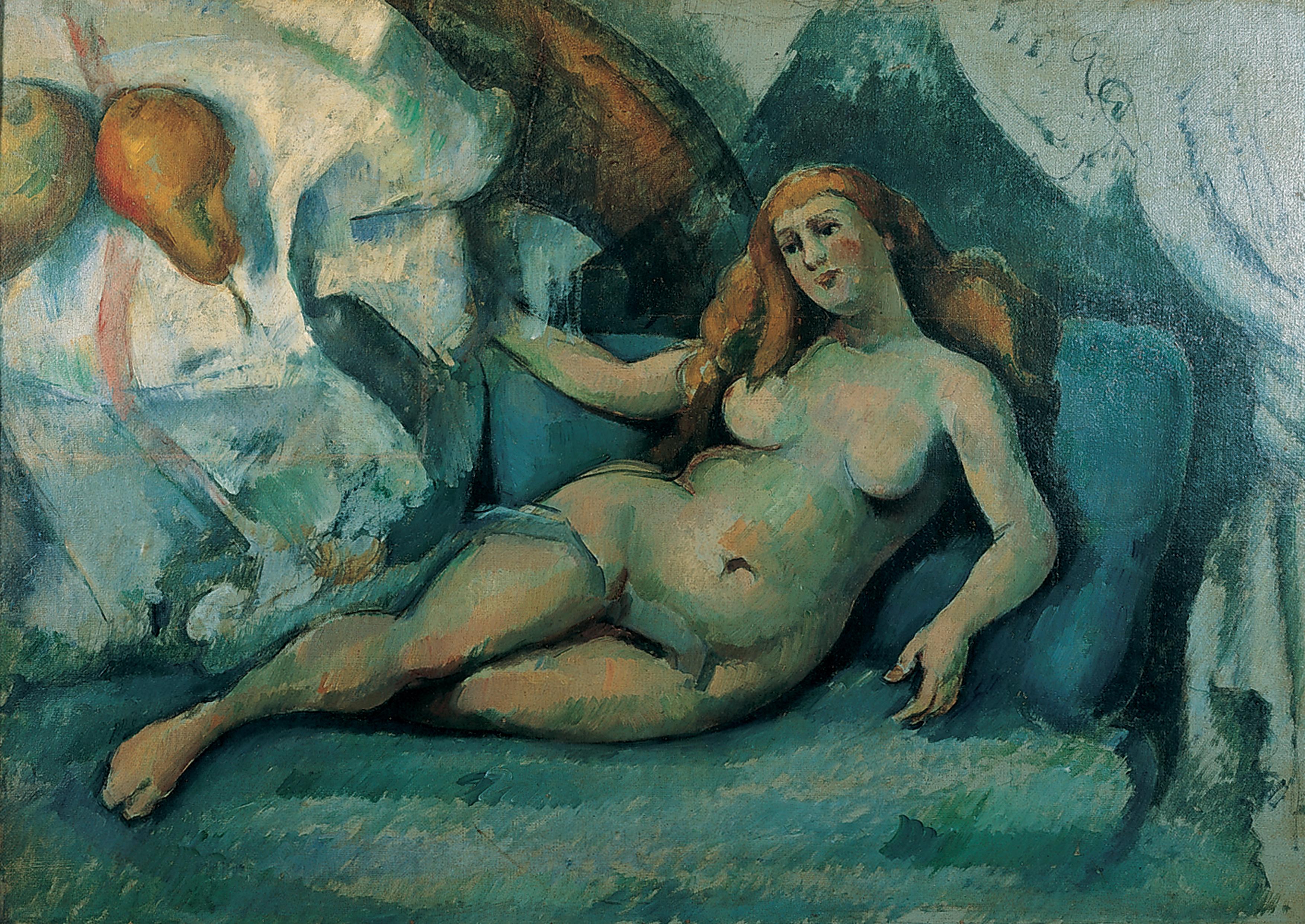Paul Cézanne aktja, Kép: wikimedia