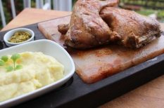 csirke, grill, sótégla, tavasz