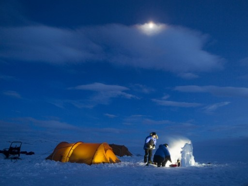 Sarki tábor, Kép: Fjallraven Polar