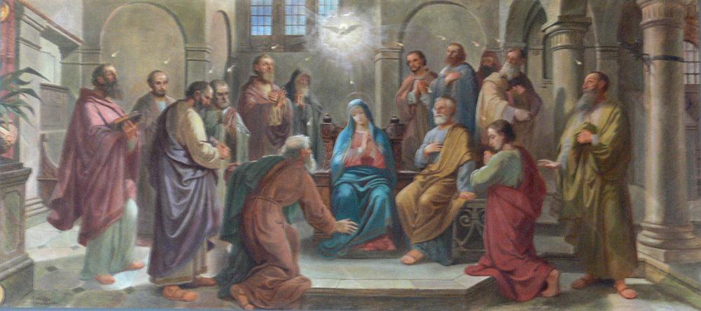 A Szentlélek eljövetele, Kép: wikimedia