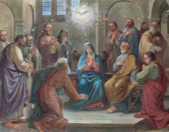 az Egyház születésnapja, fehér galamb, húsvéti misztérium, pünkösd, Reményik Sándor, szentlélek