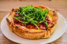 amerikai ízek, deep dish, étterem, gasztronómia, Kiss-testvérek, pizza