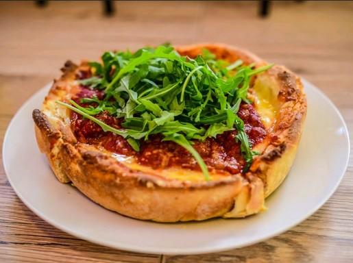 Egyszemélyes pizza, Kép: Csiki Vivien