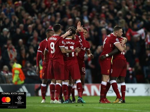 Liverpool csapata, Kép: Mastercard