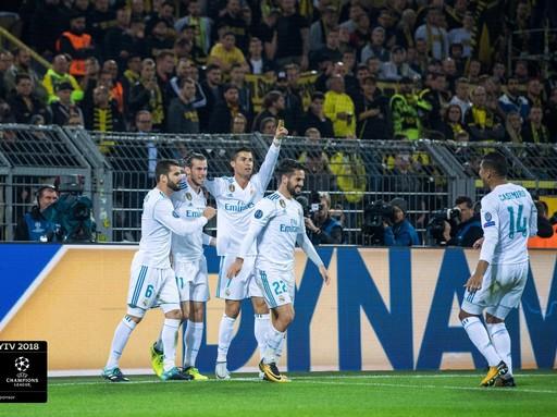 Real Madrid csapata, Kép: Mastercard