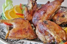 burgonya, kacsa, majoránna, pünkösdi étek