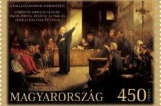 450 év, alkalmi bélyeg, Elekes Attila André, tordai országgyűlés, vallásszabadság