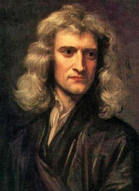Isaac Newton, Kép: wikimedia