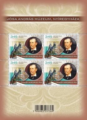 Jósa András Múzeum bélyege, Kép: Magyar Posta