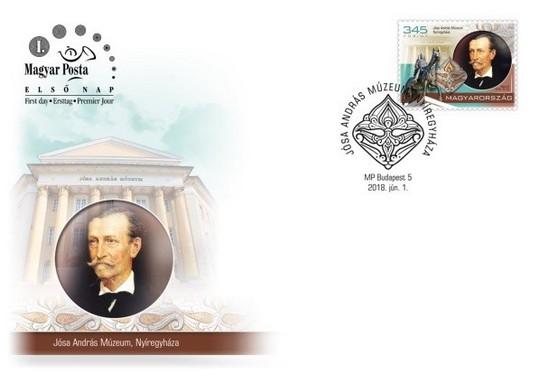 Jósa boríték, Kép: Magyar Posta