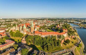 építészet, gasztronómia, kirándulás, Krakkó, Lengyelország, nyár, repülés, szabadság, történelem