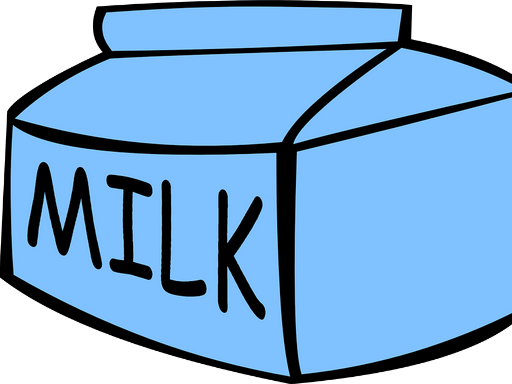 Milk feliratú dobozos tej, grafika, Kép: pixabay