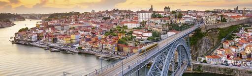 Porto, naplemente, Kép:Wizz Tours