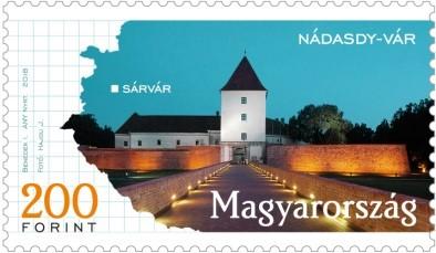 Sárvár, Kép: Magyar Posta