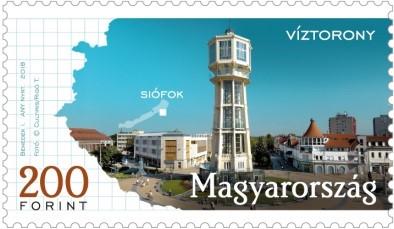 Siófok, Kép: Magyar Posta