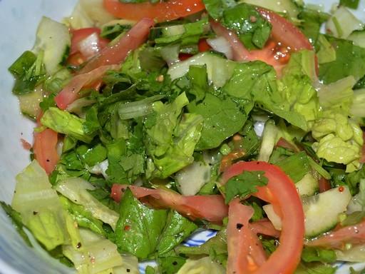Zöld saláta, Kép: pixabay