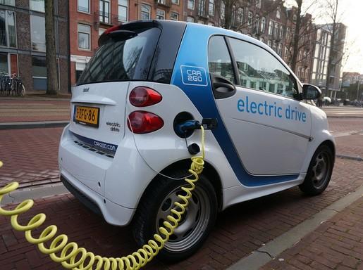 Amszerdami elektromos autó, Kép: pixabay