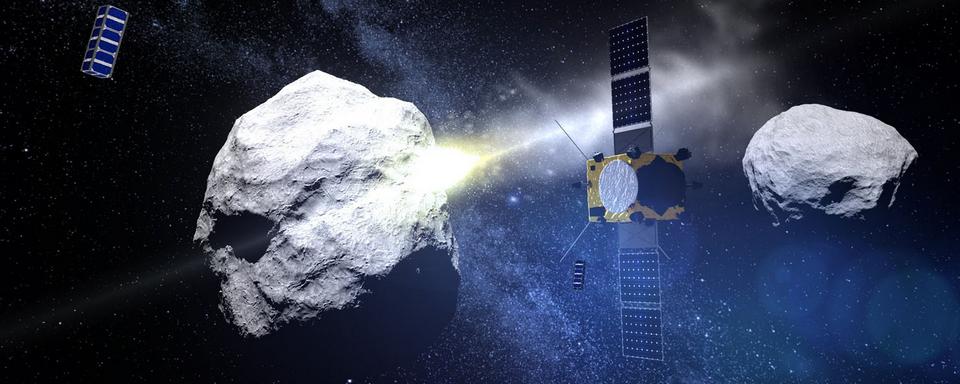 Aszteroida, Kép: Asteroid Impact Mission ESA
