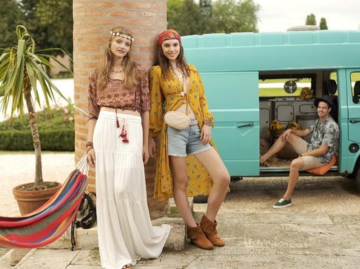 Bohém hangulatban, Kép és ruha: Fashiondays.hu