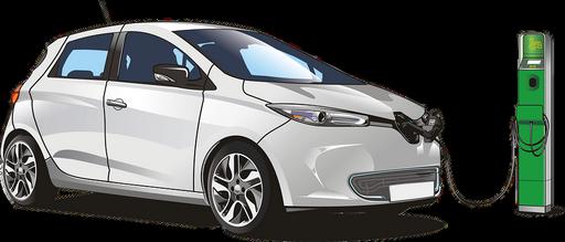 Elektromos autó, elegáns, grafika, Kép: pixabay