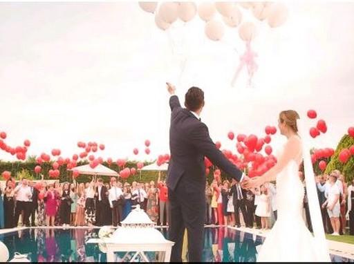 Esküvő lufikkal, Kép: szállás.hu
