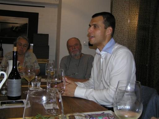 Illés Tamás, a Pannonhalmi Apátság Pincészetének marketing és kereskedelmi vezetője, Kép: László Márta