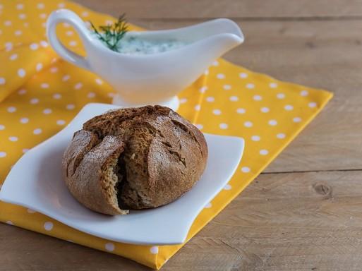 Joghurtos mártogatós kenyérrel, Kép: pixabay