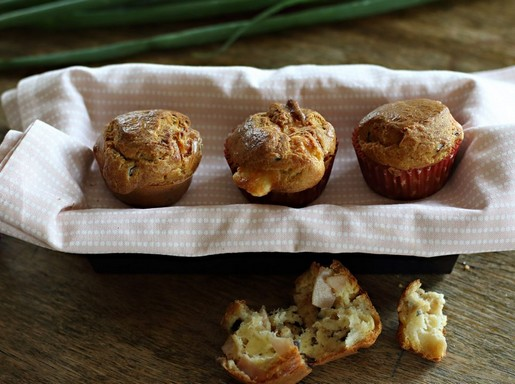 Pulykasonkás muffin, Kép: gallicoop.hu