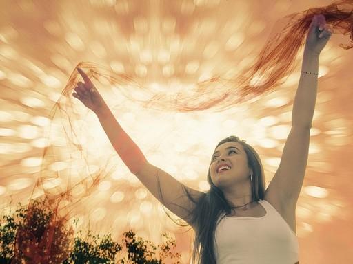 Szép nő nyáron, Kép: pixabay