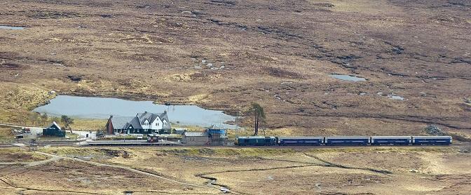 Trainspotting, Corrour állomás, Kép: sajtóanyag