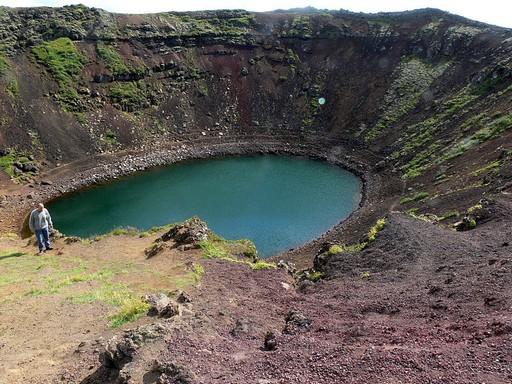 Kerid kráter-tó, Kép: wikipedia