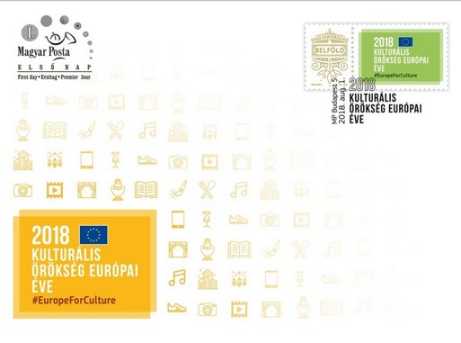 Kulturális örökség európai éve díszboríték, Kép, Magyar Posta