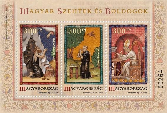 Magyar szentek és boldogok, VI., Kép: Magyar Posta