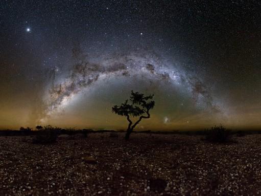 Namíbiai égbolt, Kép Schmall Rafael