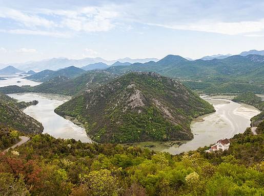 Shkodrai-tó, Montenegró, Kép: wikipedia