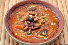 lapocka, leves, spanyolország, szalonna, szárzeller