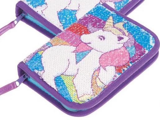 Unikornisos flitteres tolltartó, Kép: sajtóanyag