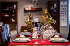 család, divat, étkező, lakberendezés, otthon, stílus, társaság