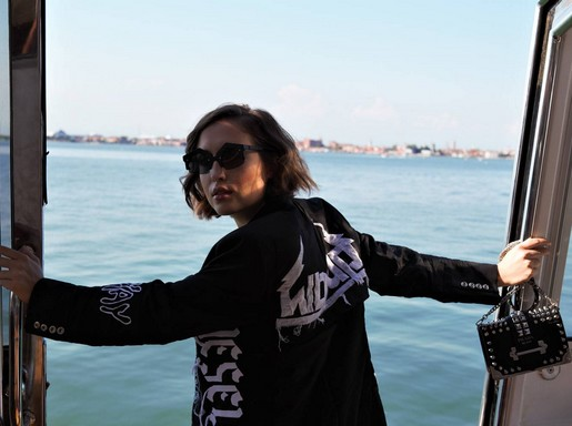 Alice Merten a lagúnák között, Kép: LuisaViaRoma