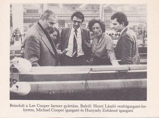 Beindult a Lee Cooper gyártása