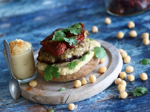 Curry-s pulykaburger, Kép: gallicoop