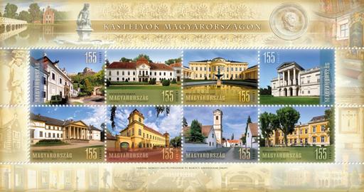 Kastélyok Magyarországon, Kép: Magyar Posta