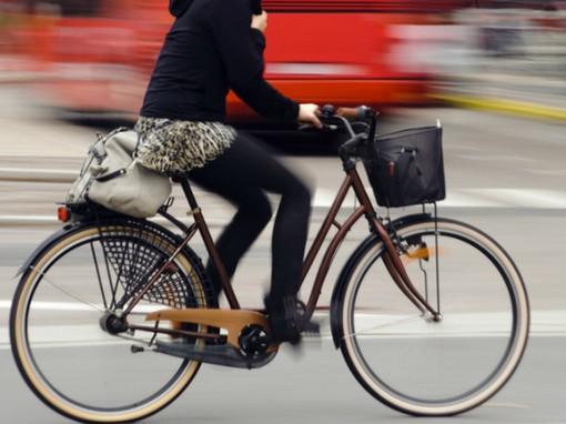 Kerékpáros lány, Kép: SmileyMed