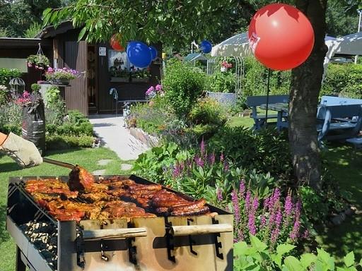 Kerti parti, sütögetés, Kép: Megyeri Szabolcs