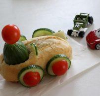 egészséges uzsanna, évkezdet, móka, szendvics