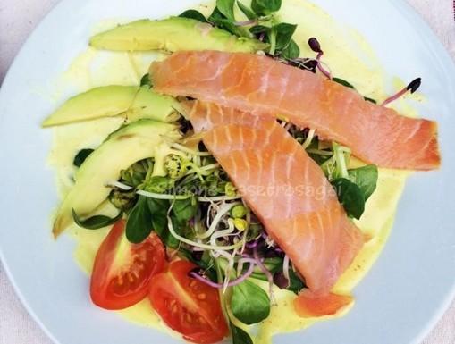Lazac saláta, Kép: PammerLívia