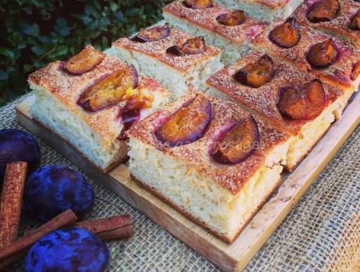 Szilvás sütemény, Kép: Pammer Lívia
