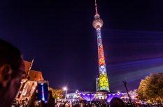 Berlin, fényfesztivál, Kiégő Izzók, művészet, szavazás
