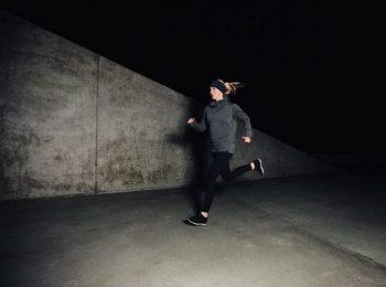 bizonság, futás, megelőzés, nő, önvédelem, pánik